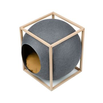 Le Cube Dark grey wood edition - Meyou Paris