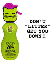 PET HEAD Crazy Cat Lady litter box fragrance
