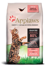 Applaws adult chicken & salmon 400 g