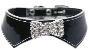 Katthalsband Sparkle Collar Black