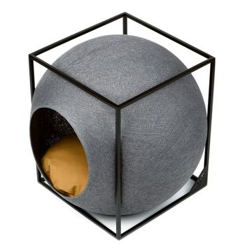 Le Cube Dark Grey - Meyou Paris