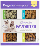 Kattgodis Kattens fyra favoriter