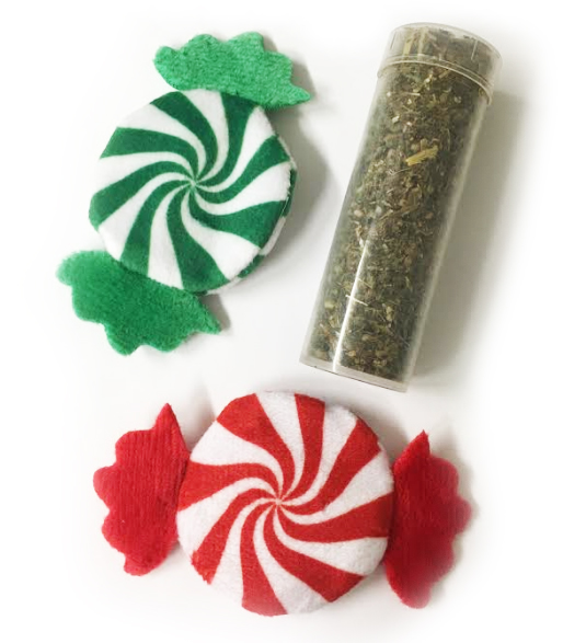 Kong Cat Christmas 2-pack peppermints